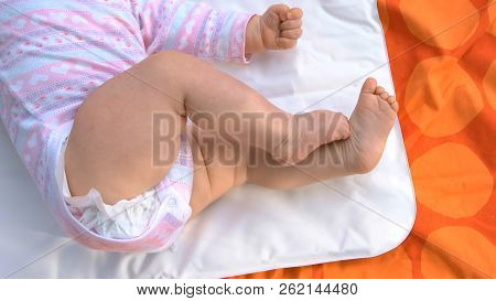 Tiny Legs Of Infant Baby. Newborn Baby Girl Lying On Blanket. Things To Know About Newborns.