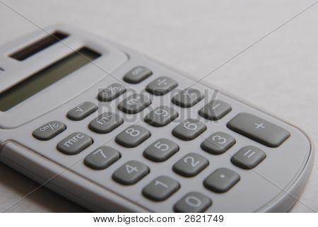 Calculator - White