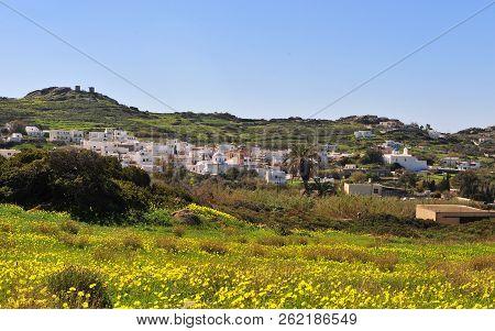 Agios Arsenios Village On Summer, Naxos Island