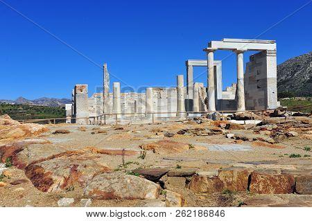 Demeter Temple Ruins In Sangri Village