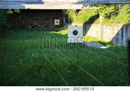 Shooting Range / Targets At The Shooting Range
