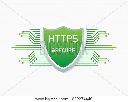 Https Protocol. Safe And Secure Web Sites On The Internet. Ssl Certificate For The Site. Advantage T