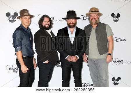 LOS ANGELES - OCT 6:  Zac Brown Band at the Mickey's 90th Spectacular Taping at the Shrine Auditorium on October 6, 2018 in Los Angeles, CA