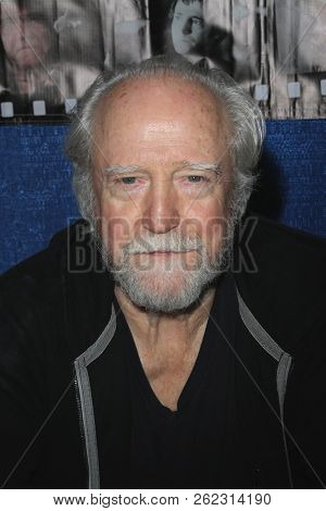 Actor Scott Wilson attends the 4th Annual Rhode Island Comic Con in Providence, Rhode Island on Nov. 6, 2015.