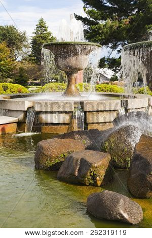 Gala Street Fountains, Invercargill, Southland New Zealand