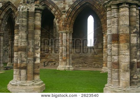 Section Of Whitby Abbey