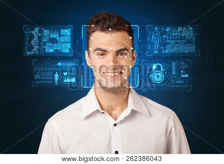 Biometric verification. The concept of a new technology of face recognition.