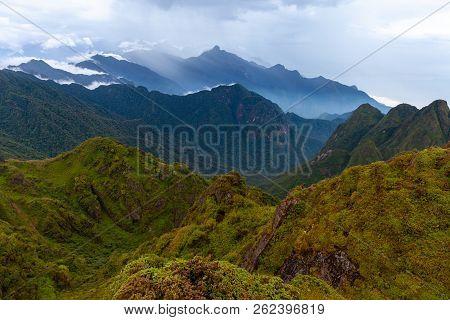 Scenic View Of The Dray Nur Waterfalls Located In Dak Lak Province, Vietnam