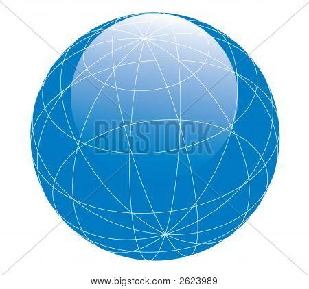 Glossy Globe