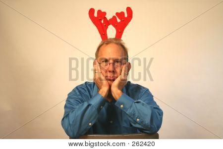 Unhappy Reindeer