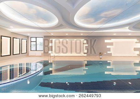 Luxury indoors pool