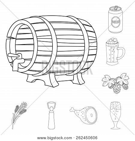 Vector Design Of Pub And Bar Icon. Collection Of Pub And Interior Vector Icon For Stock.