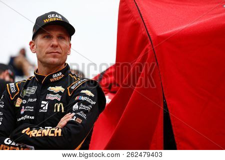 October 05, 2018 - Dover, Delaware, USA: Jamie McMurray (1) hangs out on pit road prior to qualifying for the Gander Outdoors 400 at Dover International Speedway in Dover, Delaware.