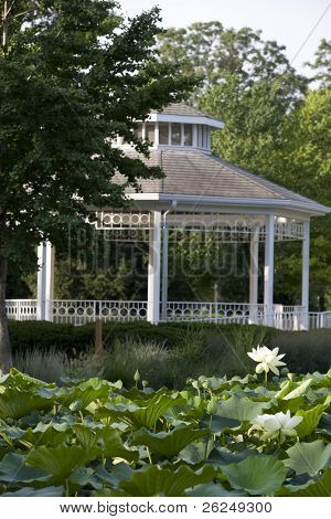Gazebo in Goodale Park in Columbus, Ohio