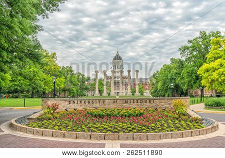 Entrance To The University Of Missouri