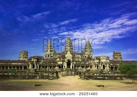 Angkor wat. Near Siem Riep. Cambodia poster
