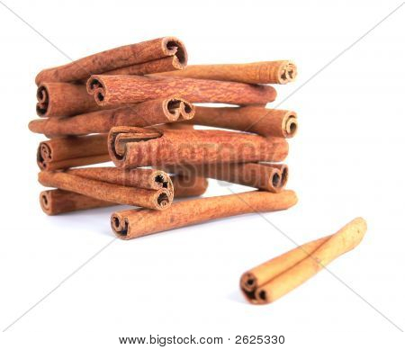 Cinnamon House And A Single Stick