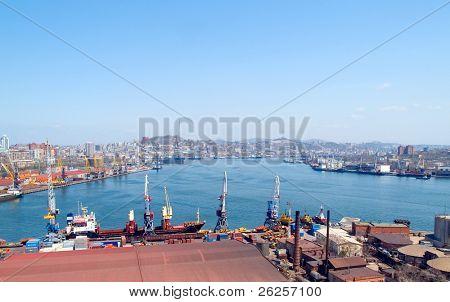 cargo port Vladivostok