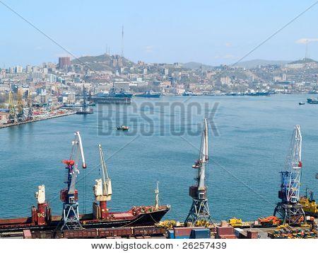 business cargo russian port Vladivostok