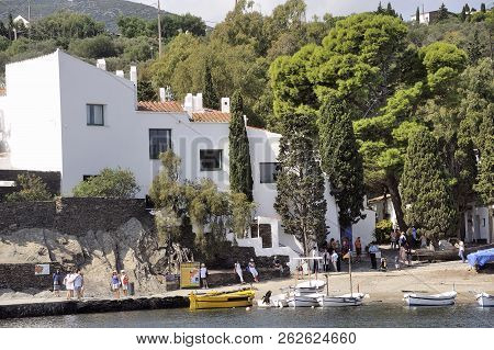 Quadaques, Spain - September 6, 2018: House Of Salvador Dali In Cadaques In Catalonia, Great Painter