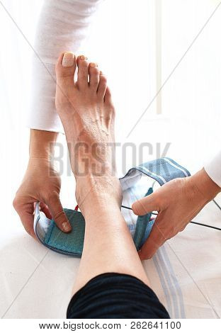 Ankle Sprain And Electrotherapy In The Hospital