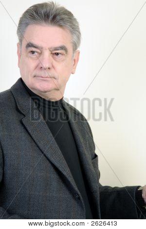 Mature, Well-Dressed Man
