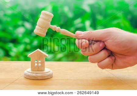 Elimination And Alienation Of Bankruptcy, Confiscation And Nationalization. Decision Of Property Dis