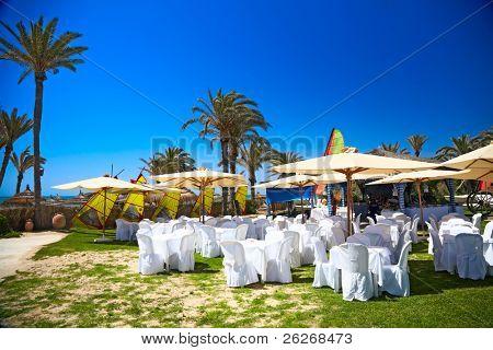 banquet at the sea, Djerba, Tunisia
