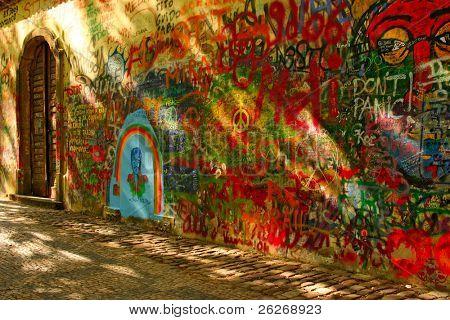 Lennon's Wall, Prague, Czech Republic