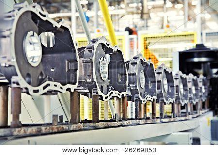 fabricação de peças para o motor do carro