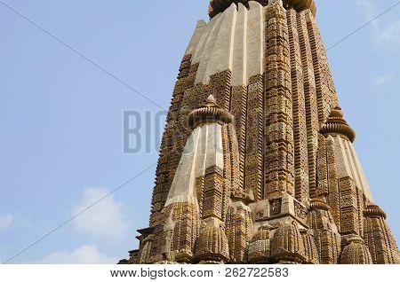Devi Jagdamba Temple, Shikara - Main Shikara, Western Group, Khajuraho, Madhya Pradesh, India, Unesc