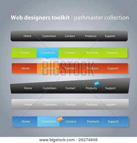 Pathmaster collection - navigation menus