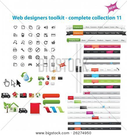 Web Designer Toolkit komplette Sammlung 11