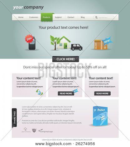 Pathmaster serie - plantilla web editable