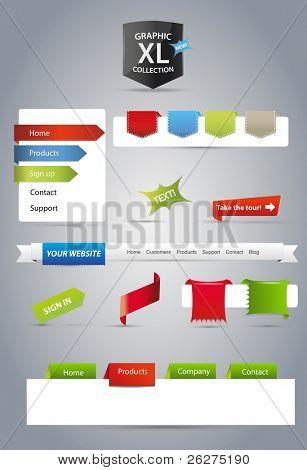 Editable web graphics