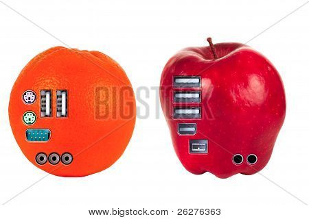 Computer fruit