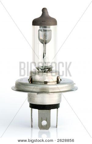 Isolated Car Bulb