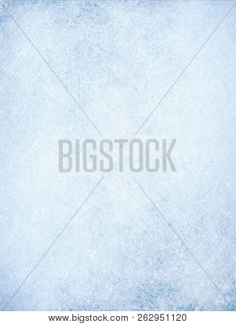 Frost Texture Iced Background - Winter Material