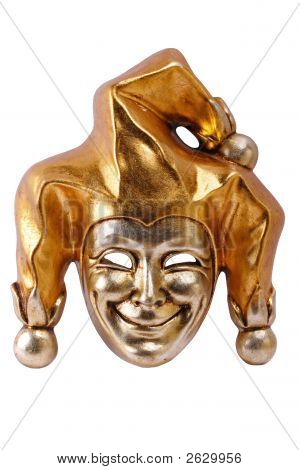 Venetian Mask Isolated