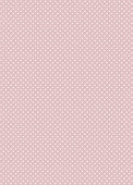 Pretty polka dots seamless vector background on beige poster