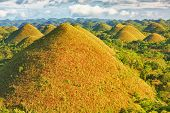 View of The Chocolate Hills. Bohol, Philippines poster