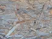 Chipboard plank for interesting, creative backgrounds.  For creative ideas, interesting backgrounds and textures. poster