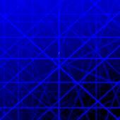 Blue grid lines background illustration. poster