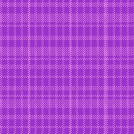 Square Fabric Pattern In Violet Color. Seamless Vector Background.