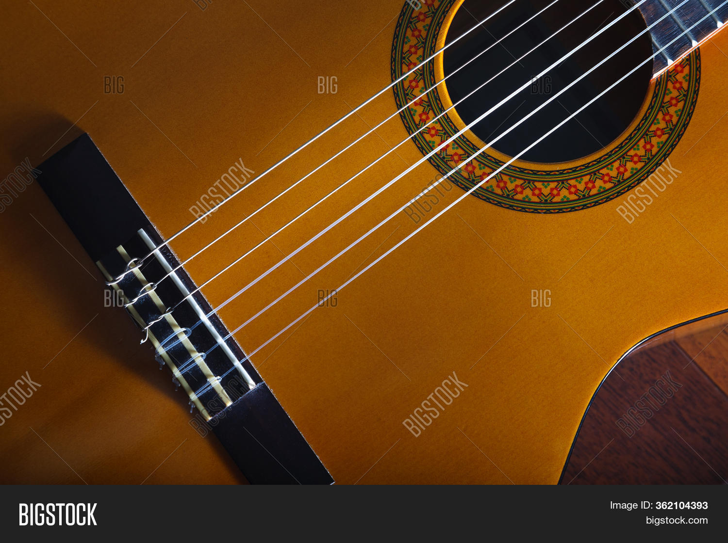 Yellow Acoustic Image Photo Free Trial Bigstock