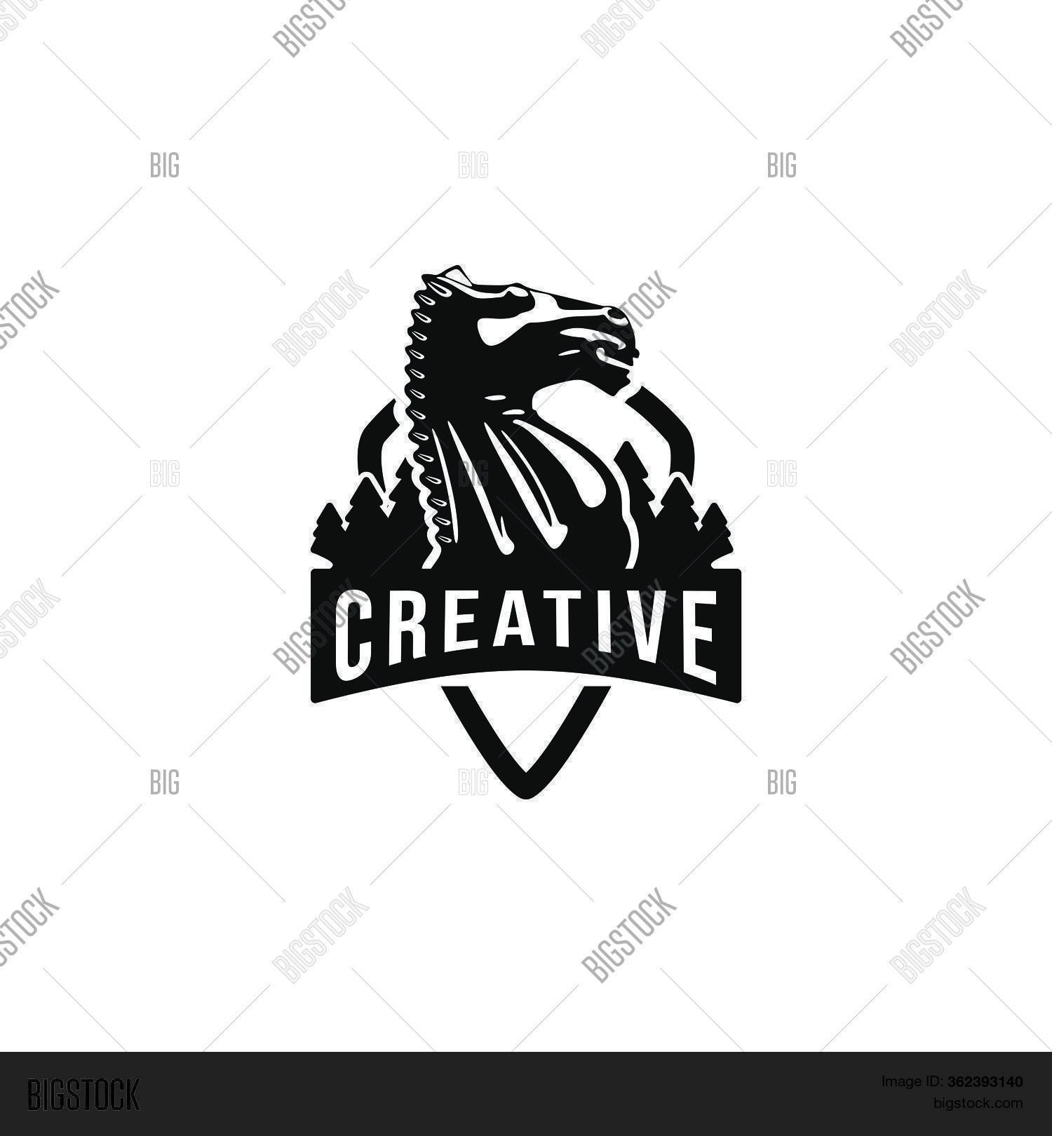 Creative Knight Horse Vector Photo Free Trial Bigstock