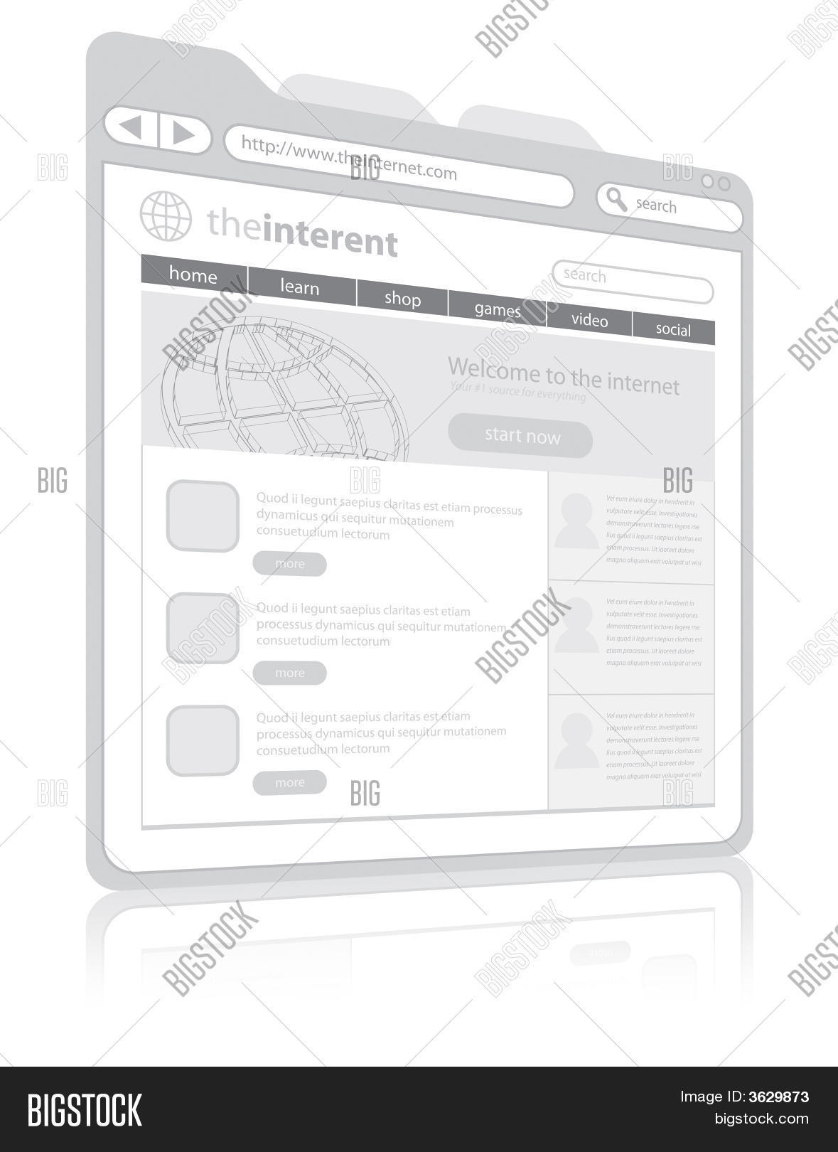 Web Browser Image Photo Free Trial Bigstock What Is A Diagram Create Lightbox