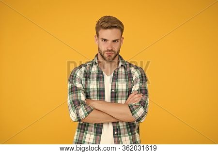 Male Beauty Standards. Masculine Outfits And Look. Stylish Male In Fashionable Clothing. Handsome Ma