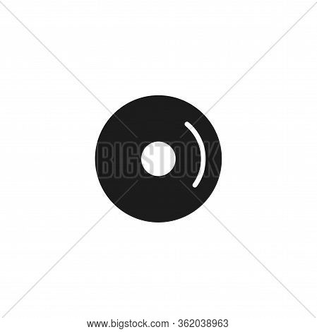 Cd Vector Icon . Lorem Ipsum Illustration Design