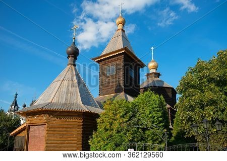 Church Of St. Sergius Of Radonezh At Holy Trinity Convent In The City Of Murom, Vladimir Region.